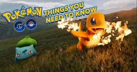 The things you should know about Pokemon Go game